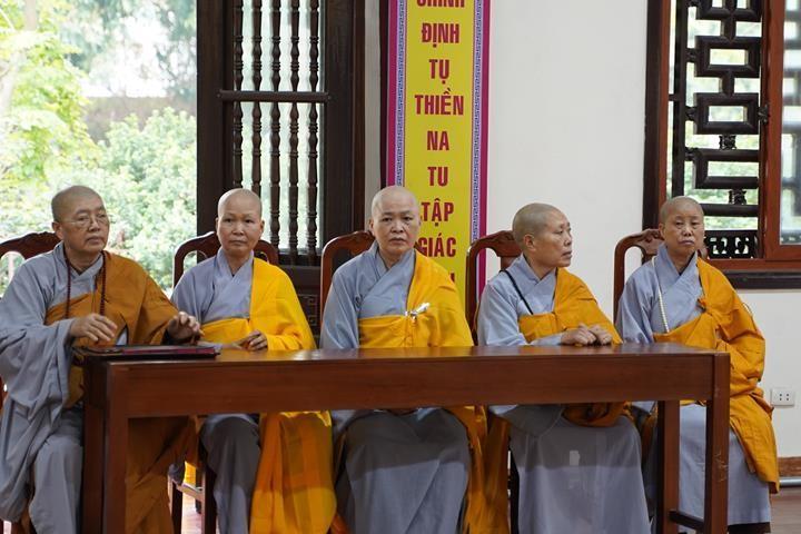 Chính thức truyền giới tại Đại giới đàn Hà Nội Phật lịch 2565 ảnh 72