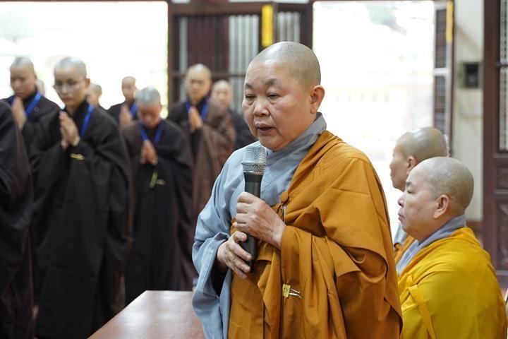 Chính thức truyền giới tại Đại giới đàn Hà Nội Phật lịch 2565 ảnh 74