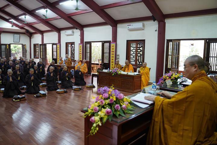 Chính thức truyền giới tại Đại giới đàn Hà Nội Phật lịch 2565 ảnh 77
