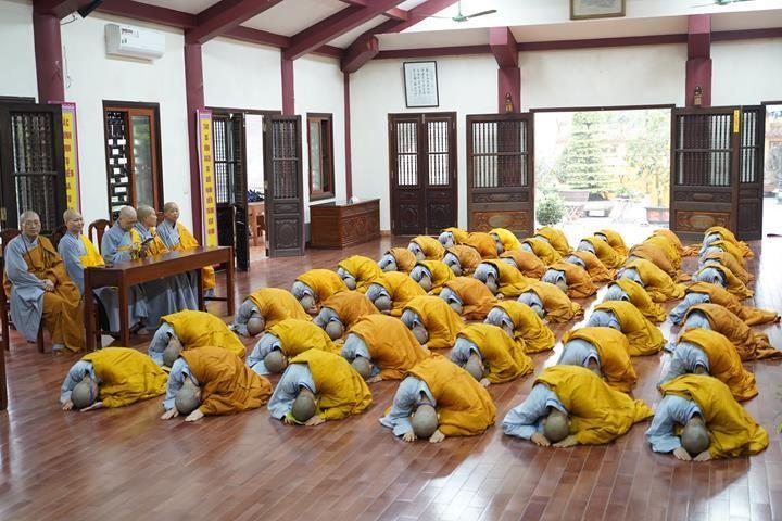 Chính thức truyền giới tại Đại giới đàn Hà Nội Phật lịch 2565 ảnh 82