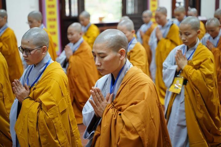 Chính thức truyền giới tại Đại giới đàn Hà Nội Phật lịch 2565 ảnh 84