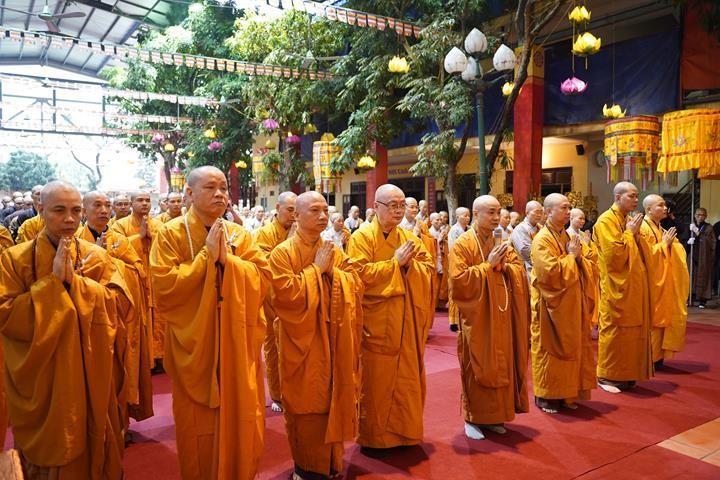 Chính thức truyền giới tại Đại giới đàn Hà Nội Phật lịch 2565 ảnh 6
