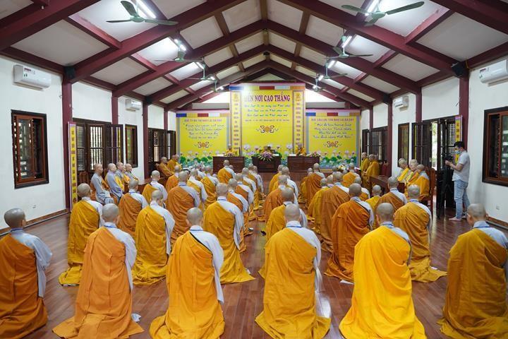 Chính thức truyền giới tại Đại giới đàn Hà Nội Phật lịch 2565 ảnh 89