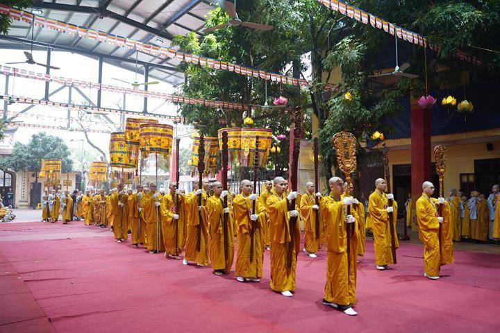 Chính thức truyền giới tại Đại giới đàn Hà Nội Phật lịch 2565 ảnh 91