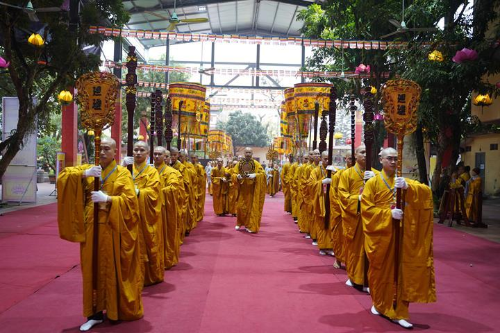 Chính thức truyền giới tại Đại giới đàn Hà Nội Phật lịch 2565 ảnh 92