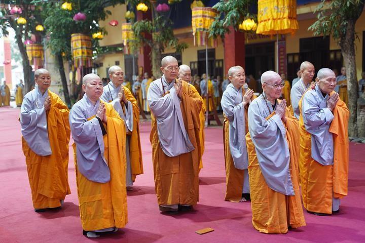 Chính thức truyền giới tại Đại giới đàn Hà Nội Phật lịch 2565 ảnh 2