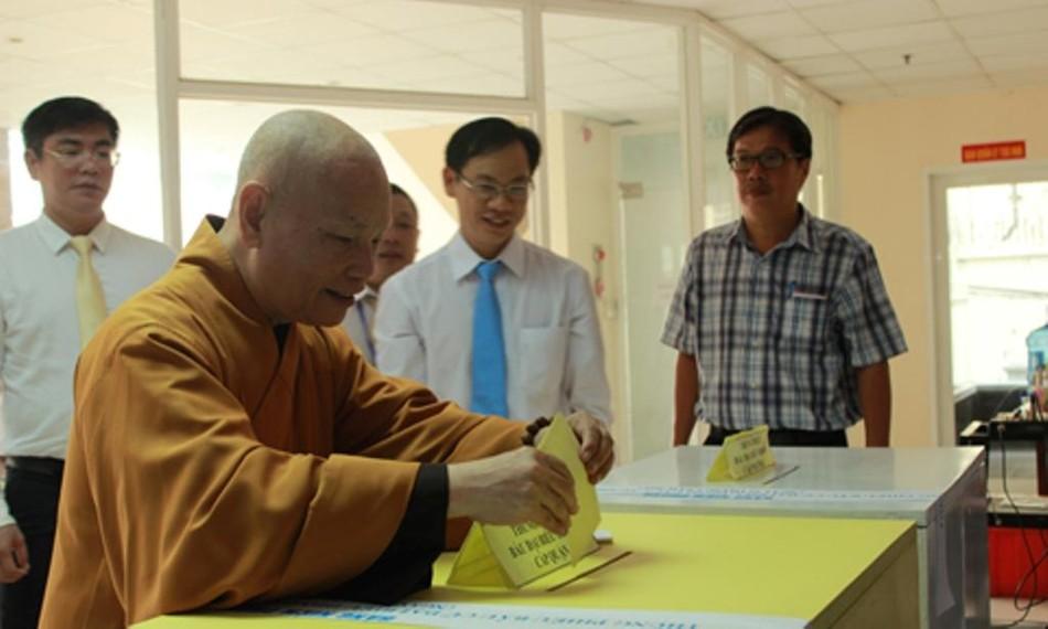 GHPGVN kêu gọi Tăng Ni, Phật tử tích cực tham gia cuộc bầu cử Quốc hội và đại biểu HĐND các cấp ảnh 1