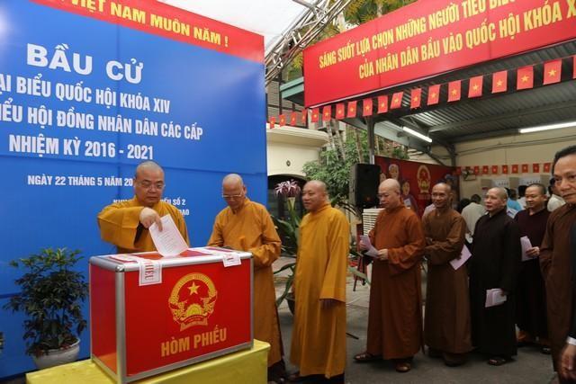 GHPGVN kêu gọi Tăng Ni, Phật tử tích cực tham gia cuộc bầu cử Quốc hội và đại biểu HĐND các cấp ảnh 2