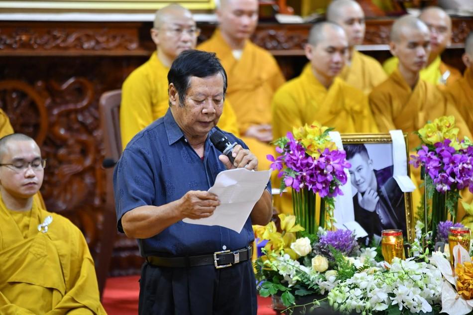 Cầu siêu ca sĩ Vân Quang Long tại chùa Giác Ngộ ảnh 4