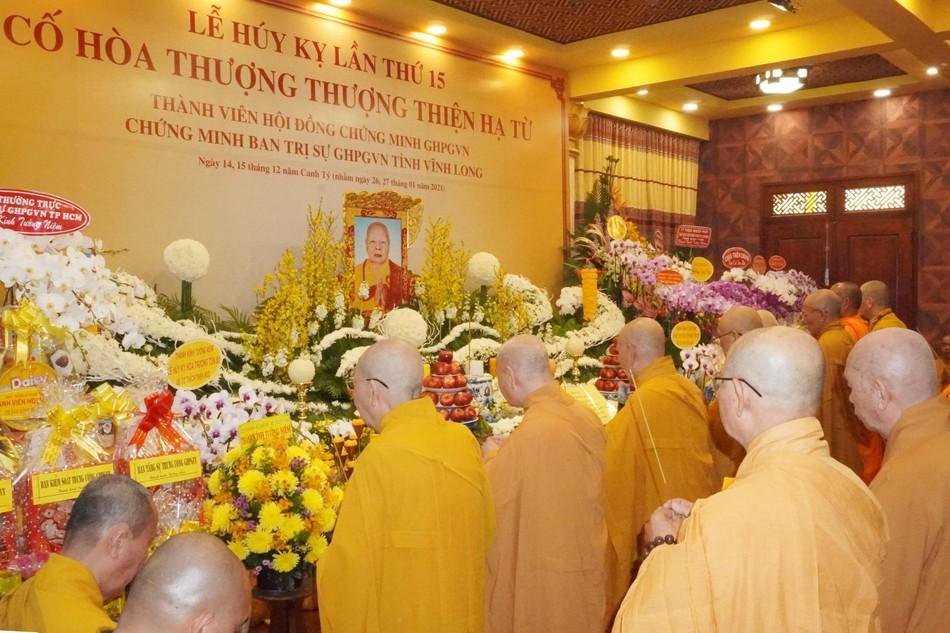 Tưởng niệm Hòa thượng Thích Thiện Từ tại chùa Minh Đạo ảnh 2
