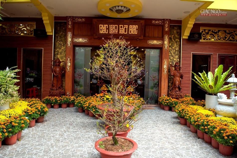 Tái hiện Tết quê ở chùa Minh Đạo ảnh 1