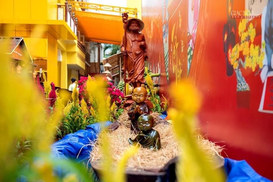 Tái hiện Tết quê ở chùa Minh Đạo ảnh 4
