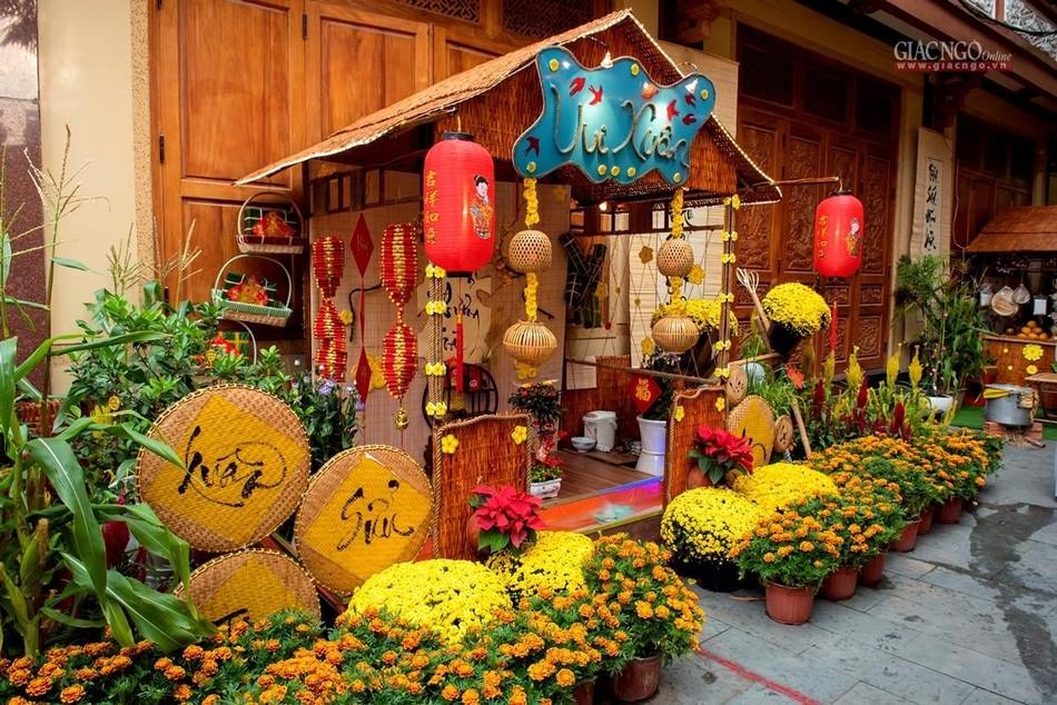 Tái hiện Tết quê ở chùa Minh Đạo ảnh 5