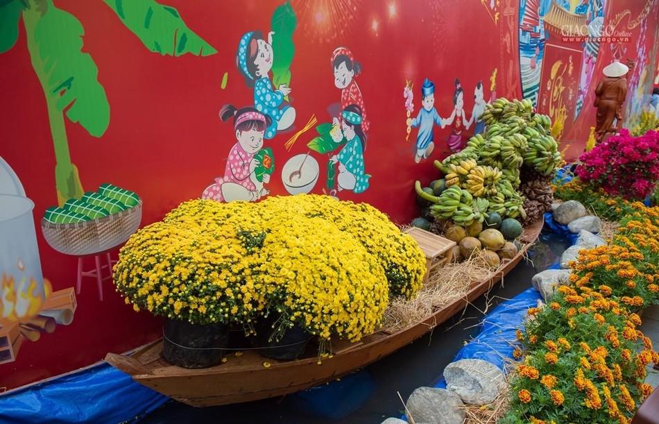 Tái hiện Tết quê ở chùa Minh Đạo ảnh 6