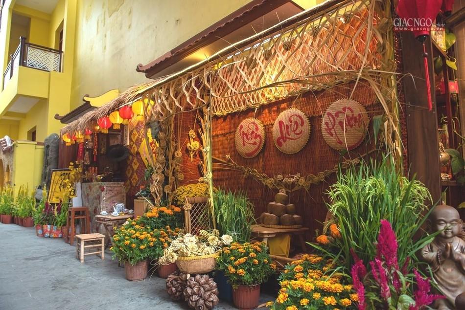 Tái hiện Tết quê ở chùa Minh Đạo ảnh 7