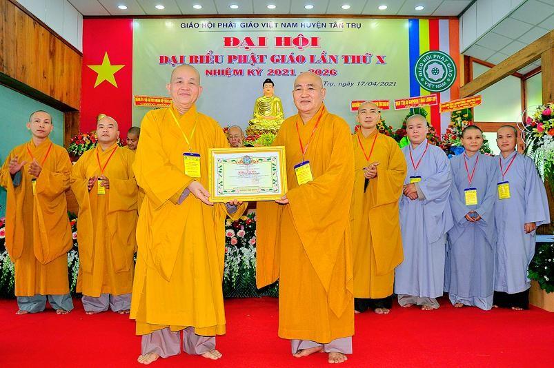 Long An: Đại đức Thích Minh Đức làm Trưởng ban Trị sự huyện Tân Trụ ảnh 2