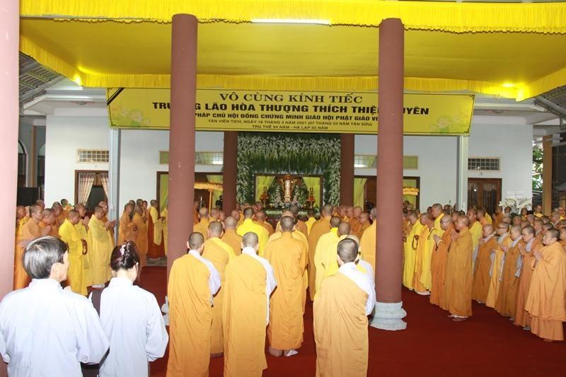 Quảng Nam: Lễ nhập kim quan Trưởng lão Hòa thượng Thích Thiện Duyên ảnh 10