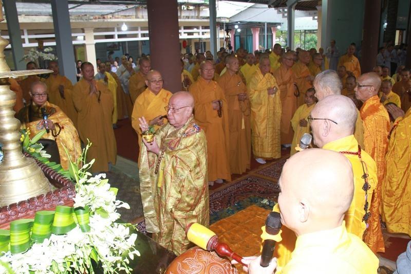 Quảng Nam: Lễ nhập kim quan Trưởng lão Hòa thượng Thích Thiện Duyên ảnh 8