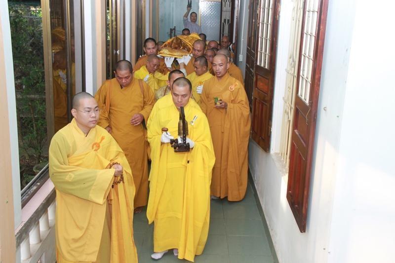 Quảng Nam: Lễ nhập kim quan Trưởng lão Hòa thượng Thích Thiện Duyên ảnh 5