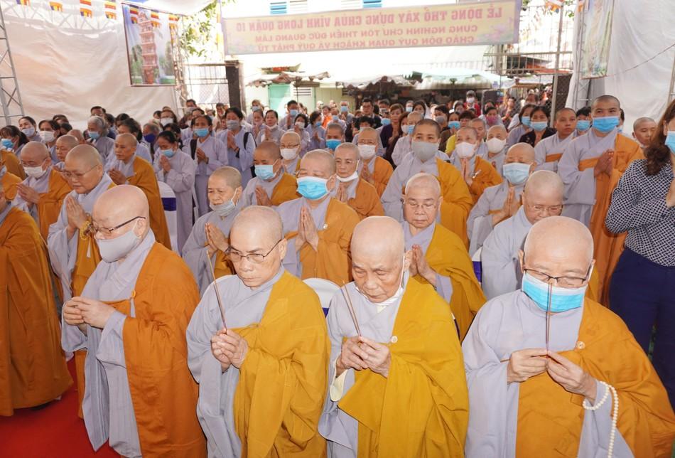 Lễ động thổ xây dựng chùa Vĩnh Long (quận 10) ảnh 9
