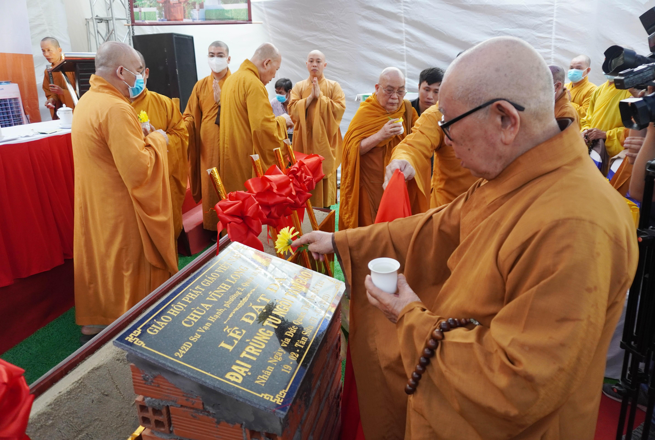 Lễ động thổ xây dựng chùa Vĩnh Long (quận 10) ảnh 11