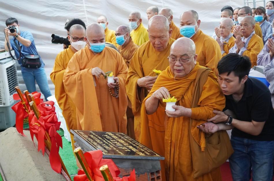 Lễ động thổ xây dựng chùa Vĩnh Long (quận 10) ảnh 12