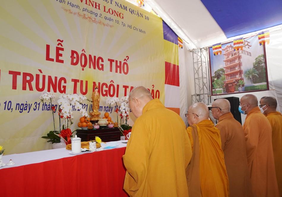 Lễ động thổ xây dựng chùa Vĩnh Long (quận 10) ảnh 7