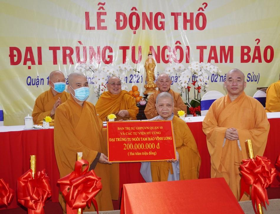Lễ động thổ xây dựng chùa Vĩnh Long (quận 10) ảnh 4