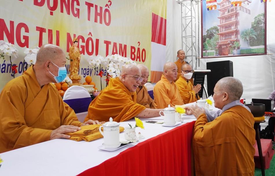 Lễ động thổ xây dựng chùa Vĩnh Long (quận 10) ảnh 3