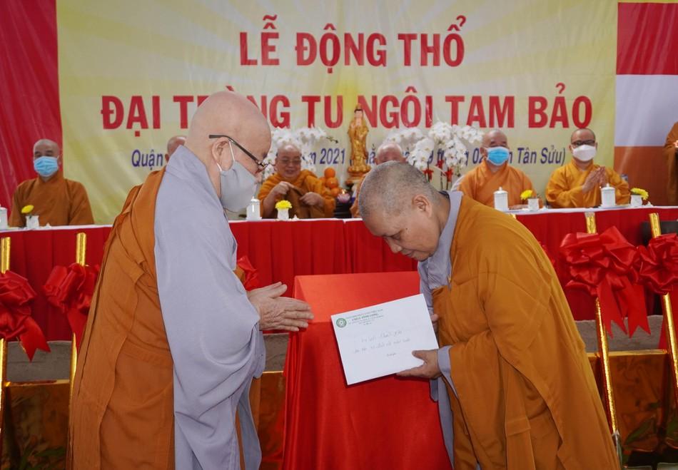 Lễ động thổ xây dựng chùa Vĩnh Long (quận 10) ảnh 5