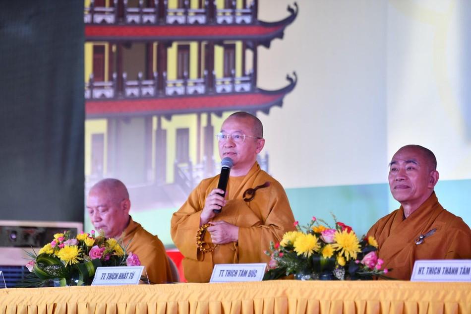 Lễ động thổ xây dựng Ni xá tu viện Long Hưng (quận Bình Tân) ảnh 2