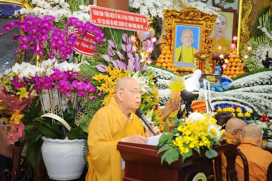Trang nghiêm lễ tưởng niệm năm thứ 7 ngày Đại lão Hòa thượng Thích Trí Tịnh viên tịch ảnh 3