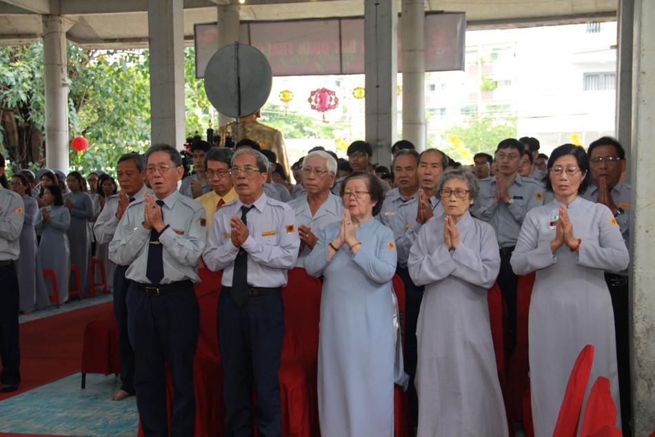 Phân ban Hướng dẫn Gia đình Phật tử TP.HCM trang nghiêm tổ chức lễ hiệp kỵ tiền nhân ảnh 6