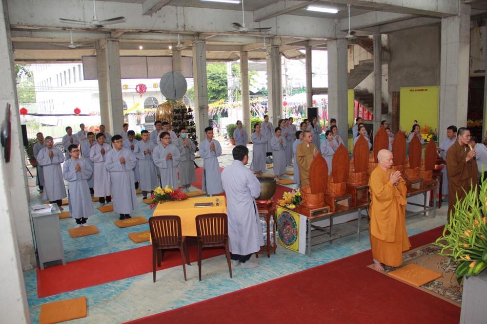 Phân ban Hướng dẫn Gia đình Phật tử TP.HCM trang nghiêm tổ chức lễ hiệp kỵ tiền nhân ảnh 10