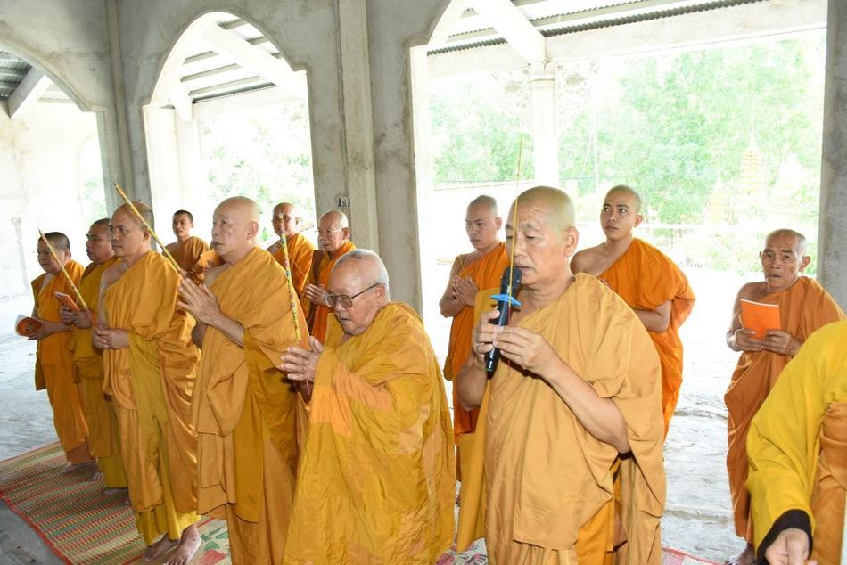 Bà Rịa - Vũng Tàu: Lễ an vị Phật tịnh xá Quang Minh ảnh 1