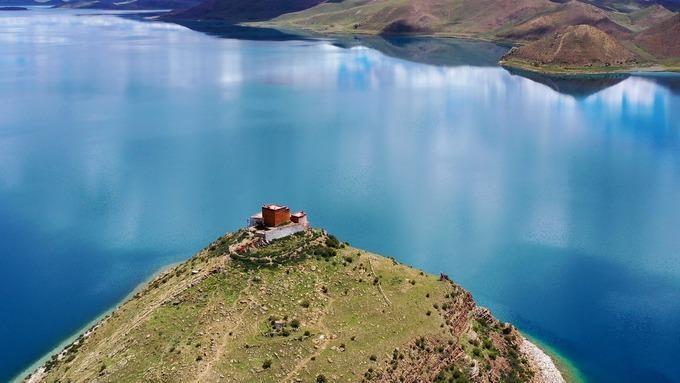Ngắm những hình ảnh về ngôi chùa độc đáo ở Tây Tạng ảnh 2