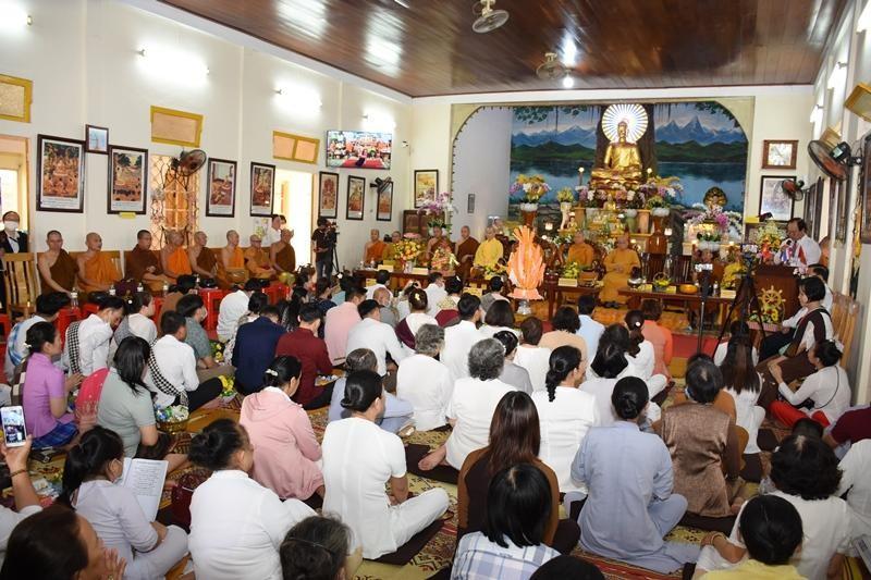 Đà Nẵng: Tết cổ truyền Bunpimay tại chùa Tam Bảo ảnh 1