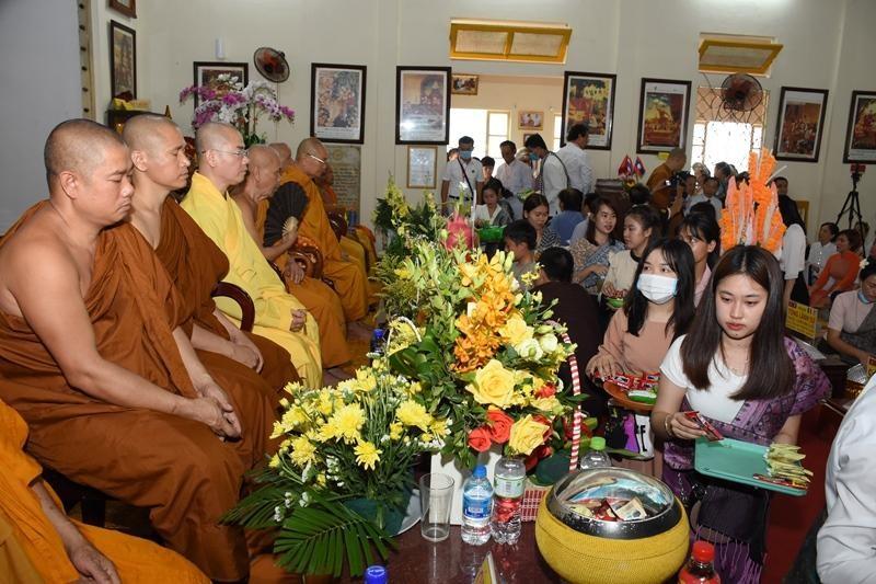 Đà Nẵng: Tết cổ truyền Bunpimay tại chùa Tam Bảo ảnh 2